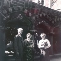 AP220 Mary Prior with CUC staf, Prof and mrs Field (Education).jpg