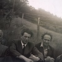 AP215 Arthur Prior, Gilbert Ryle and two others, 1954.jpg